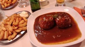 A Liège le boulet liégeois et les frites de l'Industrie