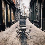 En Neuvice sous la neige