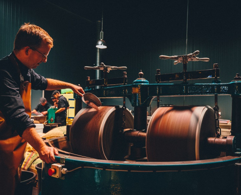 Benoit Nihant - Processus de création du chocolat