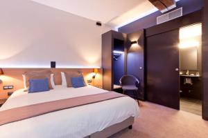 Une des 10 chambres, cosy et épurée