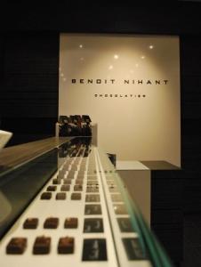 Boutique de la chocolaterie Benoit Nihant