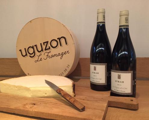 Sélection fromage et vin