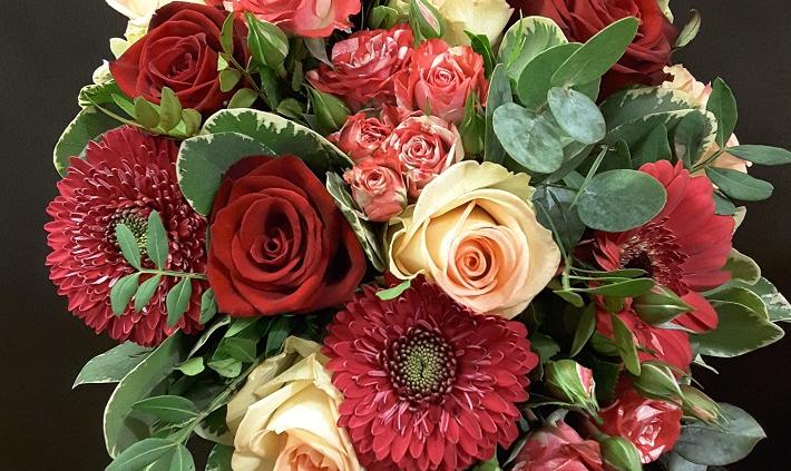 Bouquet de chez Plastiflor