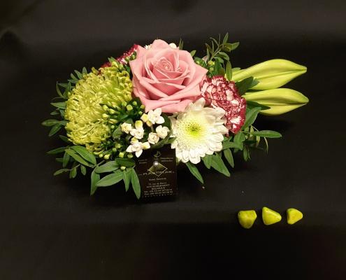 Montage floral de chez Plastiflor