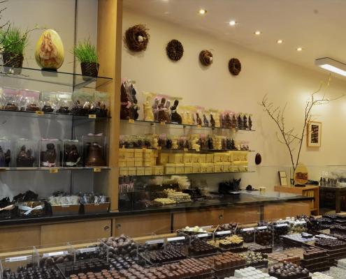 Boutique de la chocolaterie Franz