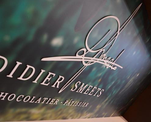 Enseigne de la Chocolaterie Didier Smeets